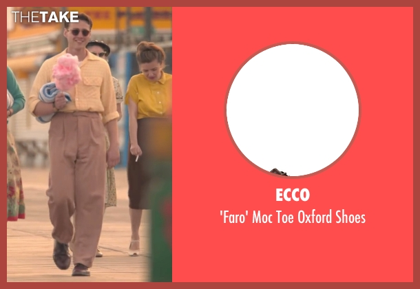 Ecco brown shoes from Brooklyn seen with Emory Cohen (Tony)