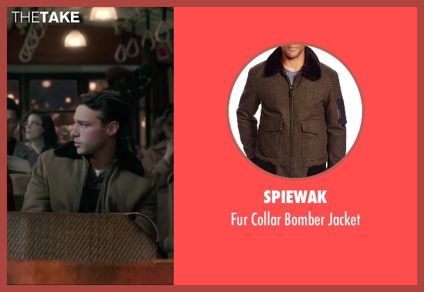 Spiewak green jacket from Brooklyn seen with Emory Cohen (Tony)