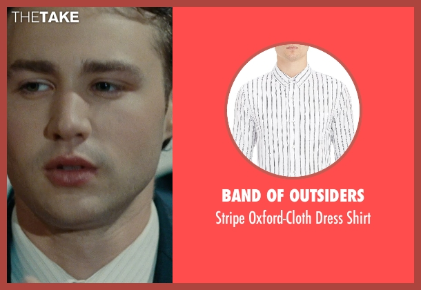 Band Of Outsiders white shirt from The Place Beyond The Pines seen with Emory Cohen (AJ)