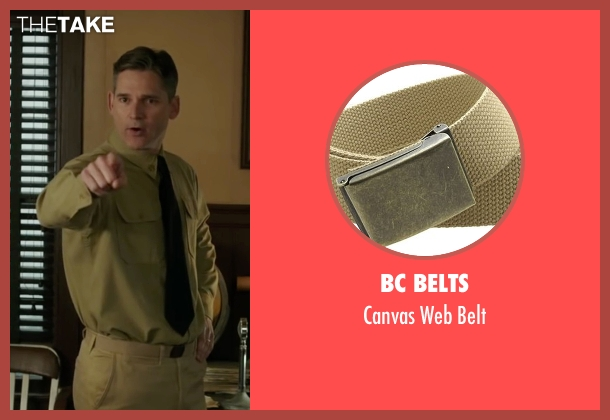 BC Belts beige belt from The Finest Hours seen with Eric Bana (Daniel Cluff)
