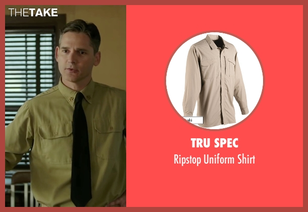 Tru Spec beige shirt from The Finest Hours seen with Eric Bana (Daniel Cluff)