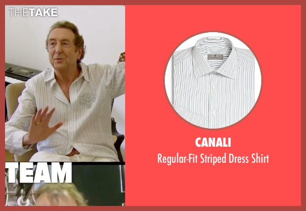 Canali white shirt from Absolutely Anything seen with Eric Idle (Extraterrestrial (voice))