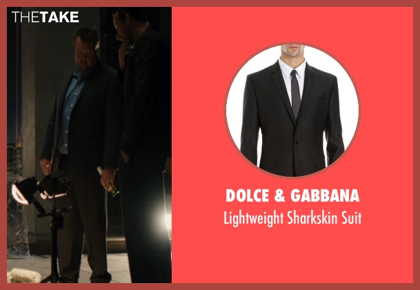 Dolce & Gabbana black suit from The Loft seen with Eric Stonestreet (Marty Landry)