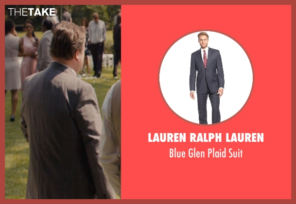 Lauren Ralph Lauren blue suit from The Loft seen with Eric Stonestreet (Marty Landry)