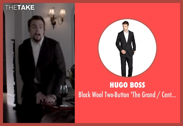HUGO BOSS black pants from Jersey Boys seen with Erich Bergen (Bob Gaudio)
