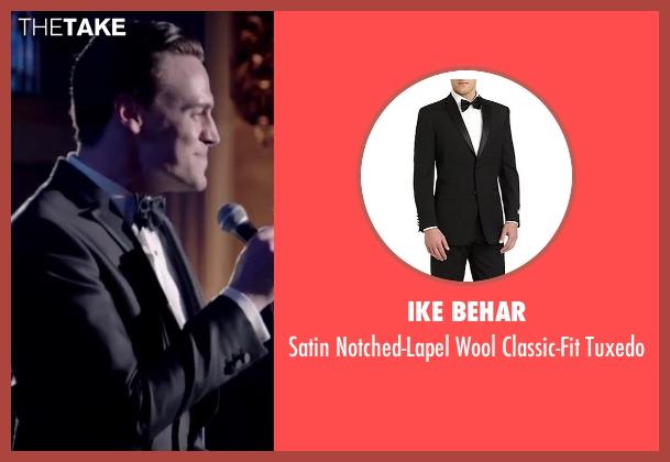 Ike Behar black tuxedo from Jersey Boys seen with Erich Bergen (Bob Gaudio)