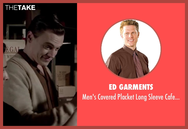 Ed Garments brown espresso from Jersey Boys seen with Erich Bergen (Bob Gaudio)