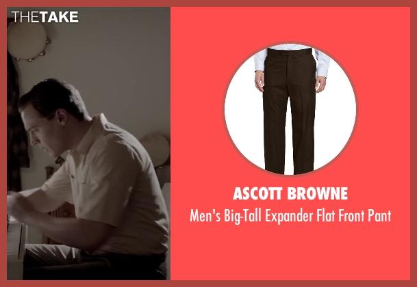 Ascott Browne brown pant from Jersey Boys seen with Erich Bergen (Bob Gaudio)