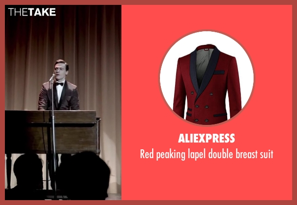 Aliexpress suit from Jersey Boys seen with Erich Bergen (Bob Gaudio)