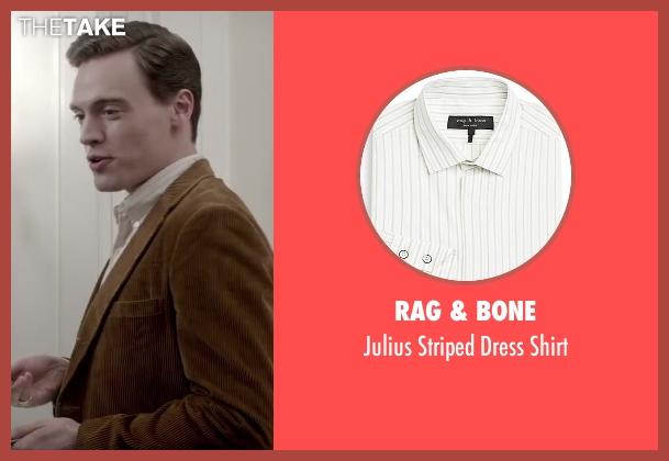 Rag & Bone white shirt from Jersey Boys seen with Erich Bergen (Bob Gaudio)