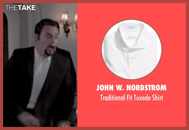John W. Nordstrom white shirt from Jersey Boys seen with Erich Bergen (Bob Gaudio)