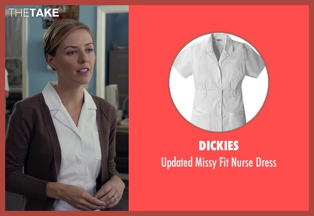 Dickies dress from Dumb and Dumber To seen with Erin Allin O'Reilly (Nurse 1)