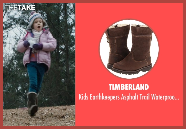Timberland brown boot from Prisoners seen with Erin Gerasimovich (Anna Dover)