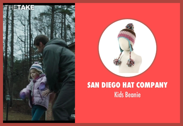 San Diego Hat Company pink beanie from Prisoners seen with Erin Gerasimovich (Anna Dover)