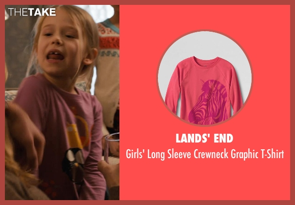 Lands' End pink t-shirt from Prisoners seen with Erin Gerasimovich (Anna Dover)
