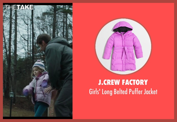 J.Crew Factory purple jacket from Prisoners seen with Erin Gerasimovich (Anna Dover)