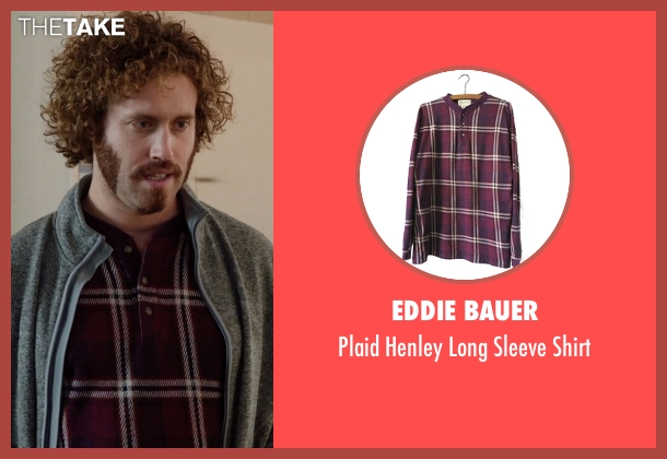 Eddie Bauer red shirt from Silicon Valley seen with Erlich Bachman (T.J. Miller)