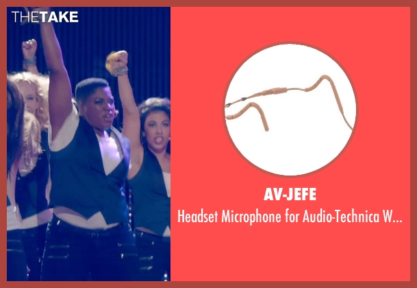 AV-JEFE systems from Pitch Perfect 2 seen with Ester Dean (Cynthia-Rose Adams)