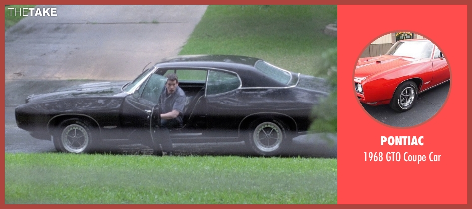 Pontiac car from Boyhood seen with Ethan Hawke (Dad)