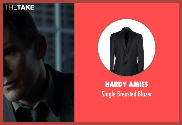 Hardy Amies black blazer from Regression seen with Ethan Hawke (Bruce Kenner)