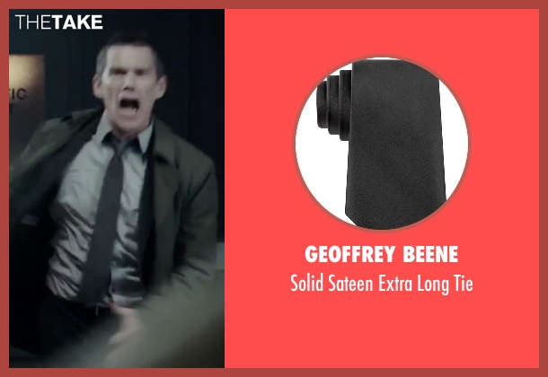 Geoffrey Beene black tie from Regression seen with Ethan Hawke (Bruce Kenner)