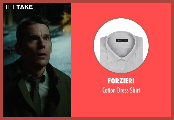 Forzieri gray shirt from Regression seen with Ethan Hawke (Bruce Kenner)