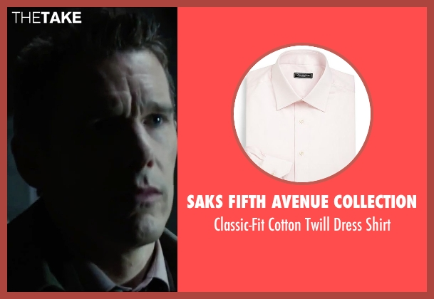 Saks Fifth Avenue Collection shirt from Regression seen with Ethan Hawke (Bruce Kenner)