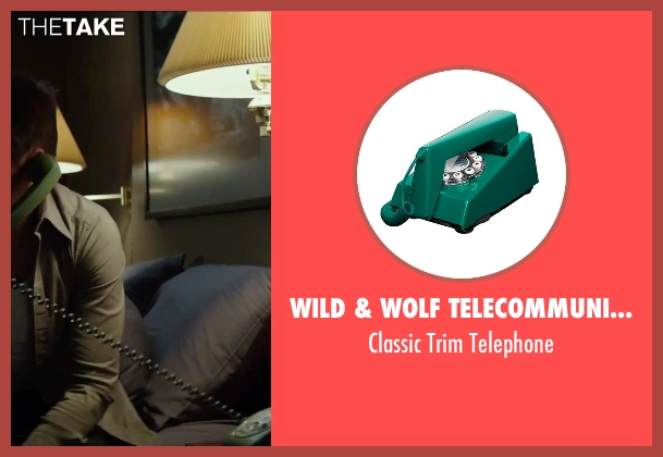 Wild & Wolf Telecommunications telephone from Regression seen with Ethan Hawke (Bruce Kenner)