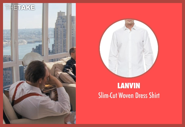 Lanvin white shirt from The Wolf of Wall Street seen with Ethan Suplee (Toby Welch)