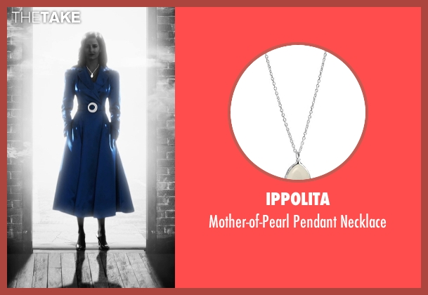 Ippolita silver necklace from Frank Miller's Sin City: A Dame To Kill For seen with Eva Green (Ava Lord)