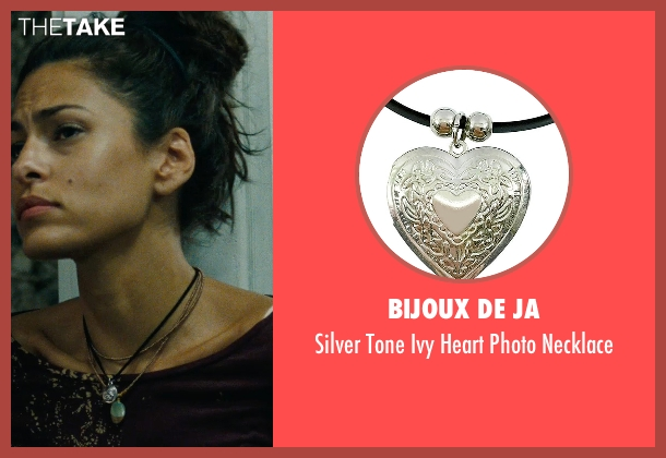 Bijoux De Ja black necklace from The Place Beyond The Pines seen with Eva Mendes (Romina)