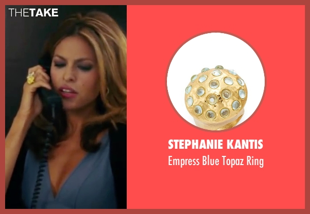 Stephanie Kantis gold ring from The Women seen with Eva Mendes (Crystal Allen)