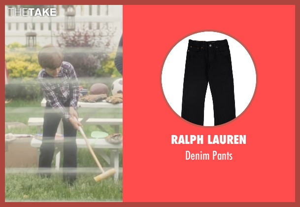 Ralph Lauren black pants from Trainwreck seen with Evan Brinkman (Allister)