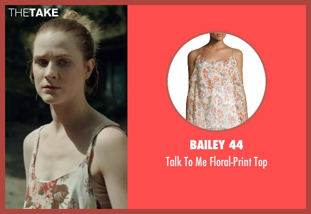Bailey 44 beige top from Into the Forest seen with Evan Rachel Wood (Eva)