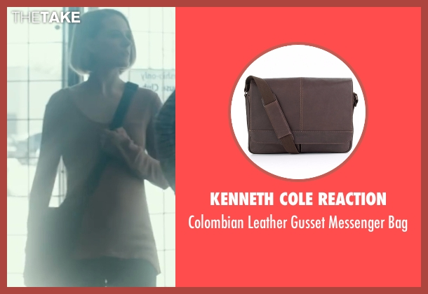 Kenneth Cole Reaction  brown bag from Into the Forest seen with Evan Rachel Wood (Eva)