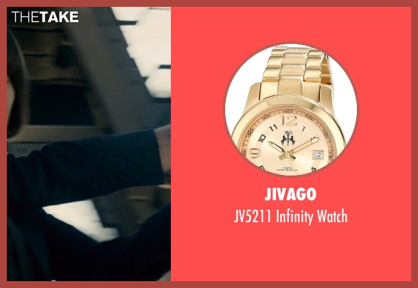 Jivago gold watch from Ant-Man seen with Evangeline Lilly (Hope Van Dyne)