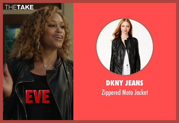 DKNY Jeans black jacket from Barbershop: The Next Cut seen with Eve (Terri Jones)