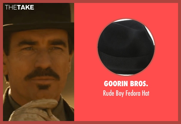 Goorin Bros. black hat from Jane Got A Gun seen with Ewan McGregor (Colin McCann)