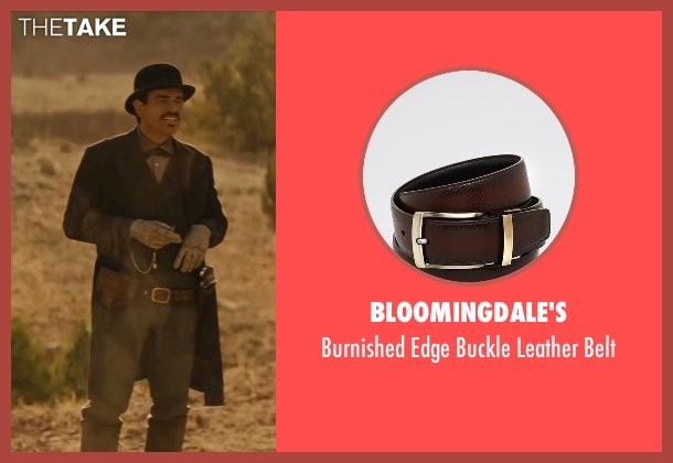 Bloomingdale's brown belt from Jane Got A Gun seen with Ewan McGregor (Colin McCann)