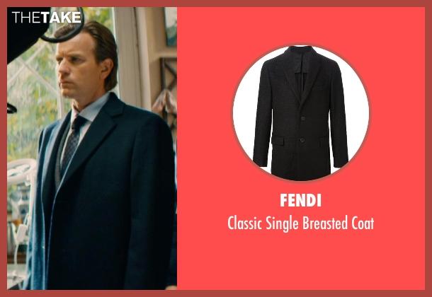 Fendi black coat from Mortdecai seen with Ewan McGregor (Inspector Martland)