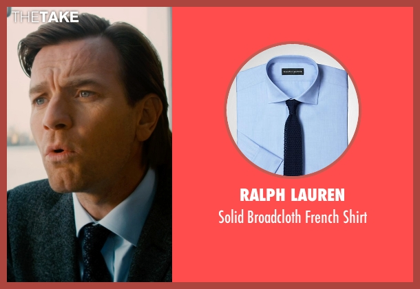 Ralph Lauren blue shirt from Mortdecai seen with Ewan McGregor (Inspector Martland)