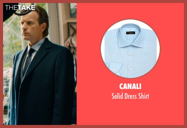 Canali blue shirt from Mortdecai seen with Ewan McGregor (Inspector Martland)