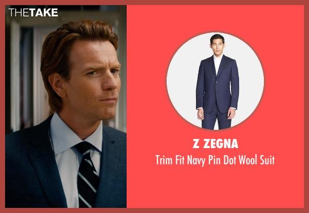 Z Zegna blue suit from Mortdecai seen with Ewan McGregor (Inspector Martland)
