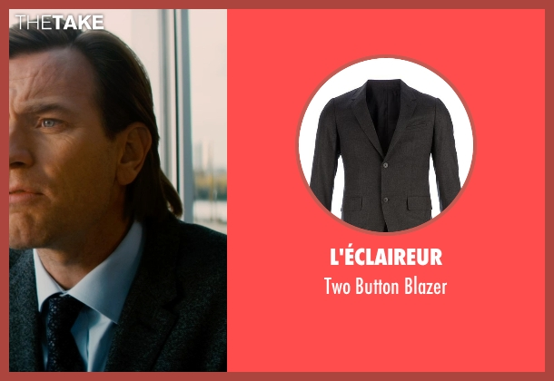 L'éclaireur gray blazer from Mortdecai seen with Ewan McGregor (Inspector Martland)