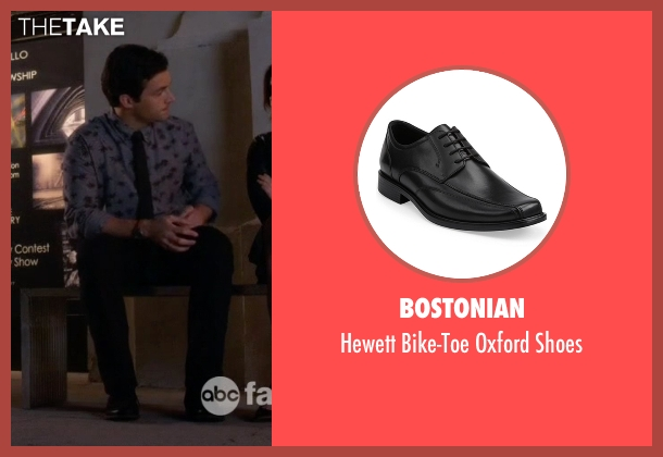 Bostonian black shoes from Pretty Little Liars seen with Ezra Fitz (Ian Harding)