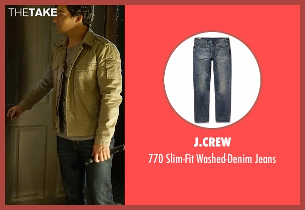 J.Crew blue jeans from Pretty Little Liars seen with Ezra Fitz (Ian Harding)