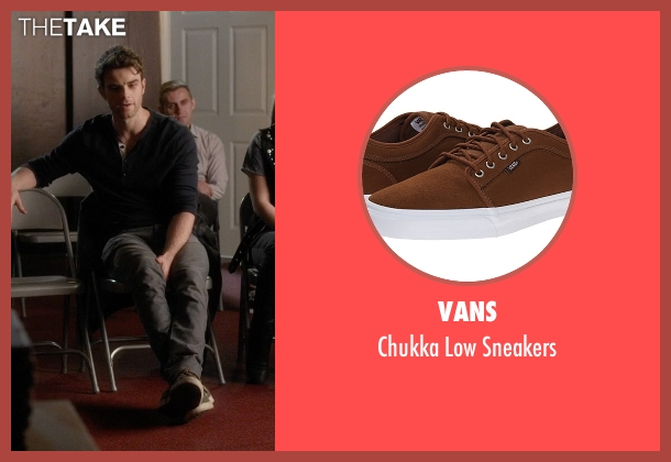 Vans brown sneakers from Pretty Little Liars seen with Ezra Fitz (Ian Harding)