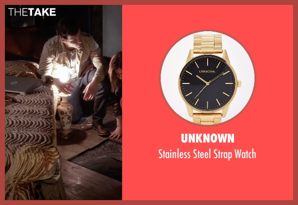 Unknown gold watch from Pretty Little Liars seen with Ezra Fitz (Ian Harding)