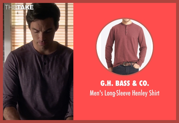 G.H. Bass & Co. red shirt from Pretty Little Liars seen with Ezra Fitz (Ian Harding)