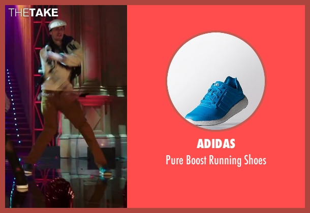 Adidas blue shoes from Step Up: All In seen with Facundo Lombard (The Santiago Twins)
